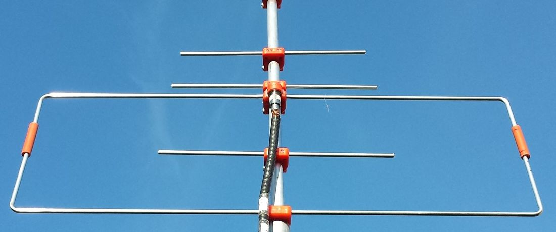 Antena Portable para satélite